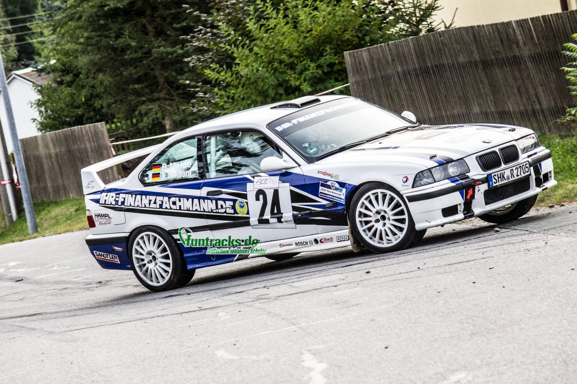 Rallye Grünhain 2016 Heilborn - Melde BMW
