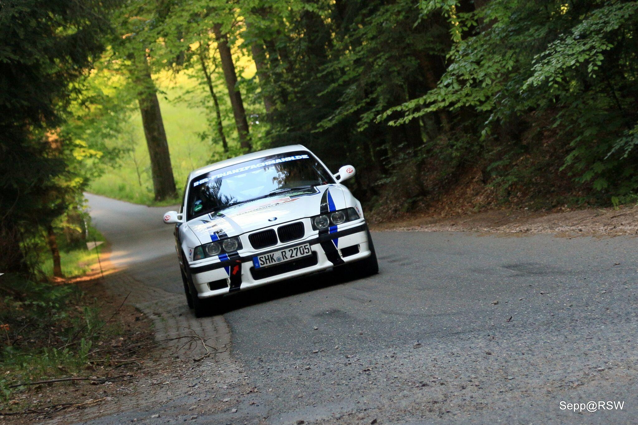 Sachsen-Rallye 2016 Nick Heilborn BMW