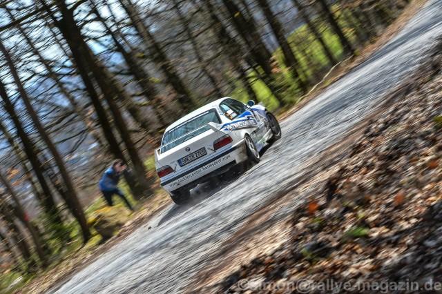 Rallye Erzgebirge 2016 Nick Heilborn BMW E36