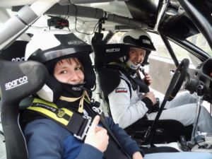 Rallyetaxi BMW Nick Heilborn