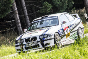 """Thüringen-Rallye 2016 Heilborn/Melde BMW E36 """"IHR-FINANZFACHMANN.DE"""""""