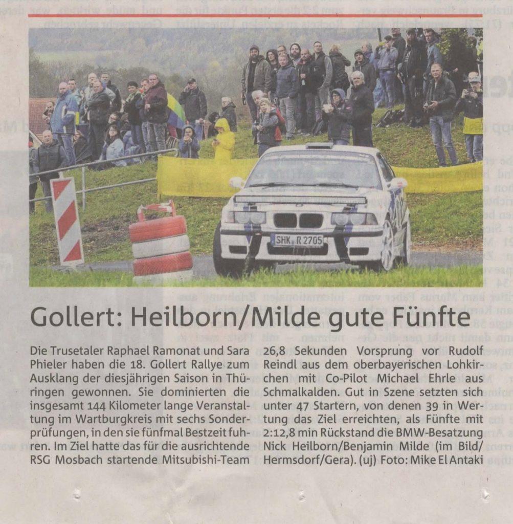 OTZ Bericht Heilborn M3