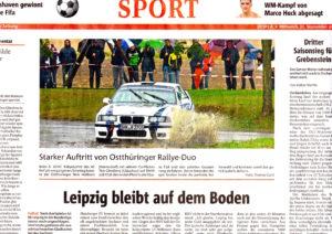 Rallyesprint Hof 2016 OTZ Heilborn-Gleisberg BMW