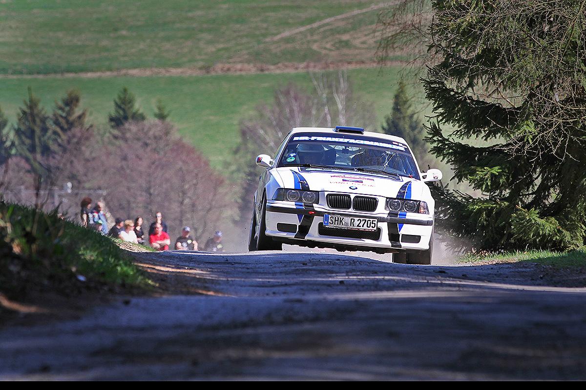 Erzgebirgsrallye 2017 Nick Heilborn / Benjamin Melde BMW M3
