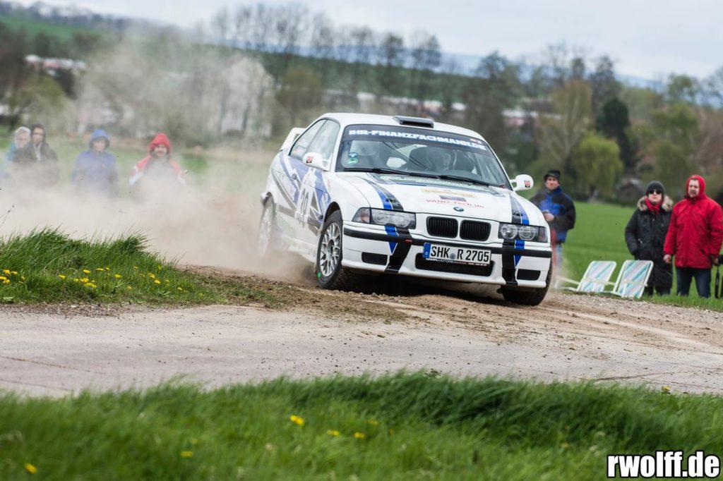 47. Roland Rallye 2017 Nick Heilborn - Benjamin Melde BMW M3
