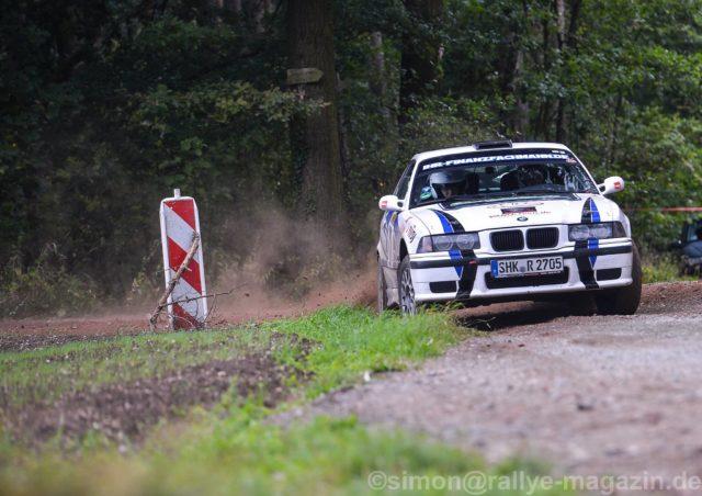 Rallye Bad Schmiedeberg 2017 Nick Heilborn-Benjamin Melde BMW M3