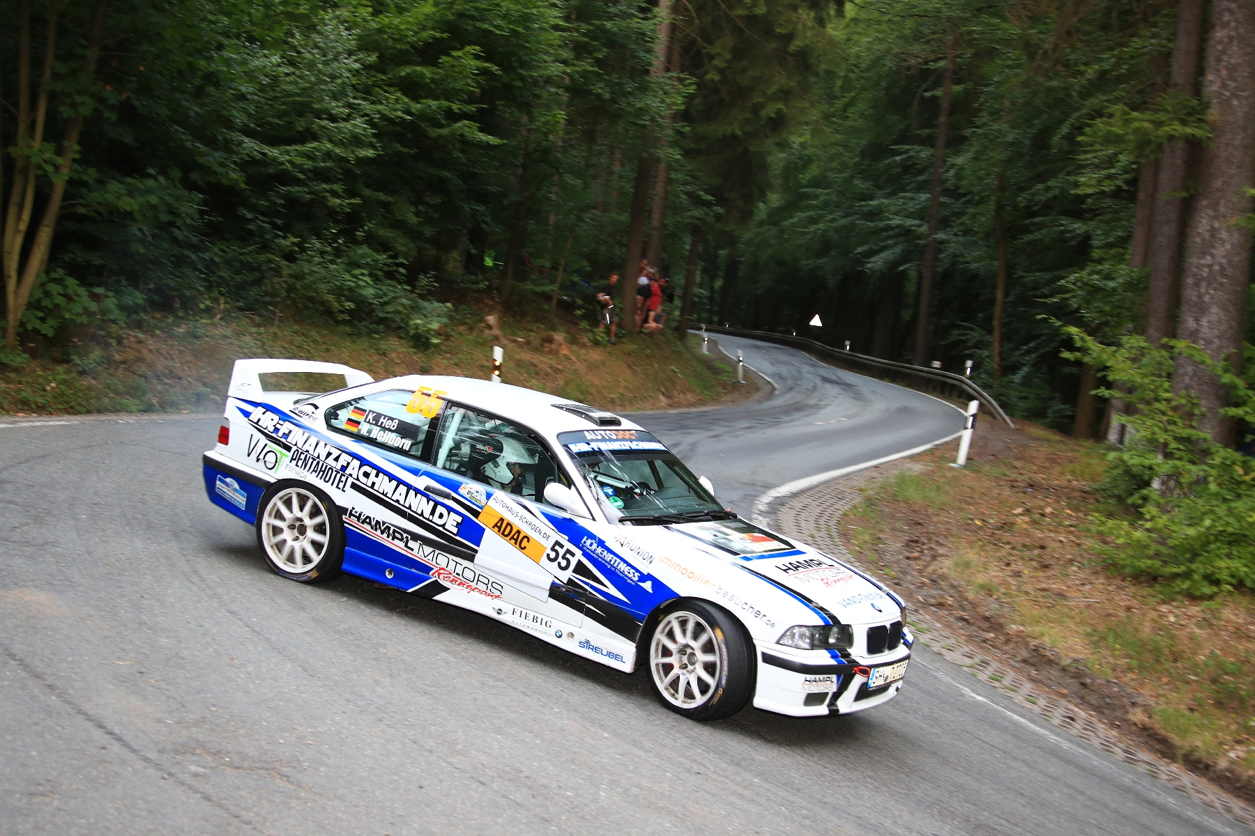 Wartburg-Rallye 2018 Nick Heilborn - Benjamin Melde BMW M3