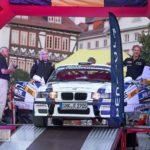 Rallye-Wartburg 2018 - Nick Heilborn und Katharina Heß, BMW M3