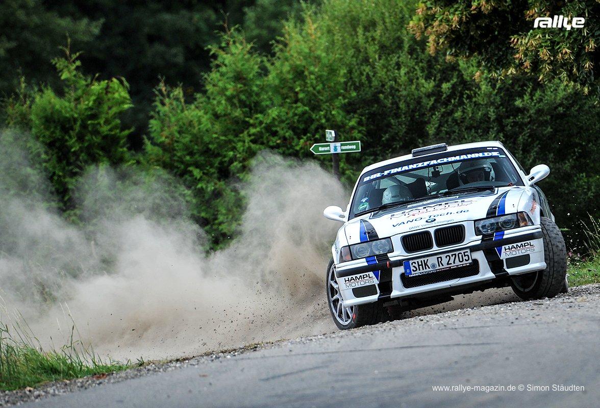 Rallye-Grünhain 2018 - Nick Heilborn und Katharina Heß, BMW M3