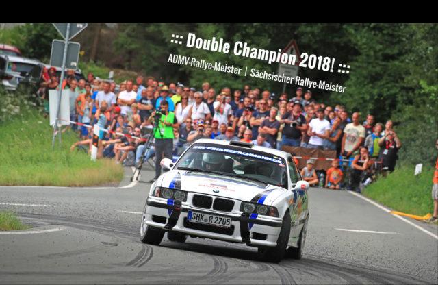 Nick Heilborn ADMV-Rallyemeister 2018 - Sächsischer Rallyemeister 2018 - BMW M3 - ihr-finanfachmann.de - IFM-Motorsport.de