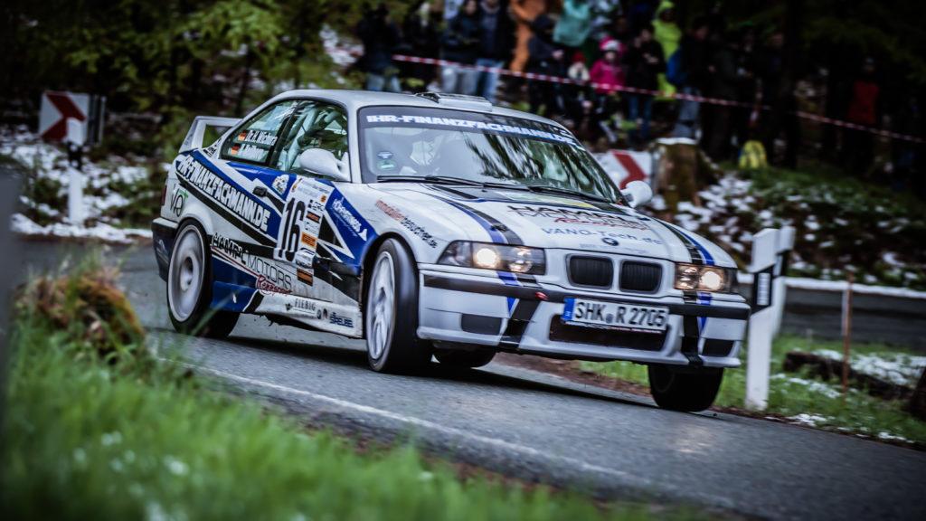 Nick Heilborn und Dr. Henry Wichura | BMW M3 | Rallye Race Gollert 2019